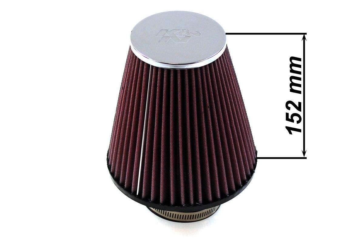 Filtr stożkowy K&N RC-4290 60-77mm - GRUBYGARAGE - Sklep Tuningowy